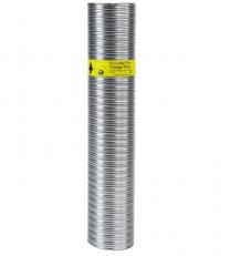 LE MÈTRE TUBAGE FLEXIBLE DOUBLE INOX-INTÉRIEUR LISSE 125/131