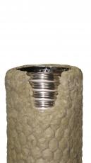 LE MÈTRE TUBAGE FLEXIBLE DOUBLE INOX  LISSE  PRE- ISOLE LAINE  DE ROCHE 3OMM DIAM  80/140 PAR 7M